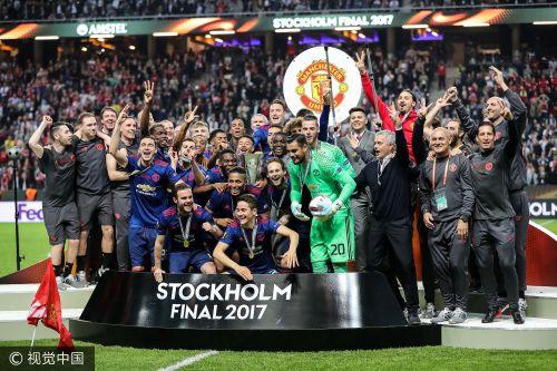 欧联杯-博格巴姆希塔良破门 曼联2-0捧杯进欧冠图片