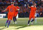 [高清组图]罗本传射斯内德出场王 荷兰5-0科特迪瓦