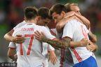[高清组图]友谊赛-大将受伤 俄罗斯3-0匈牙利