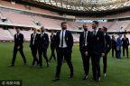 [高清组图]国际足球友谊赛前瞻:意大利型男踩场
