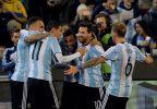 [高清组图]友谊赛-天使中柱 巴西0-1负阿根廷