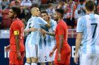[高清组图]热身赛-迪马利亚传射 阿根廷6-0客胜