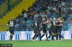 [高清组图]欧联-新援世界波处子球 AC米兰客胜