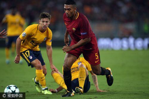 欧冠-格子屡失良机锋霸丢单刀 马竞客场0-0罗马
