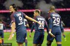 [高清组图]卡瓦尼失点姆巴佩造乌龙 巴黎2-0里昂