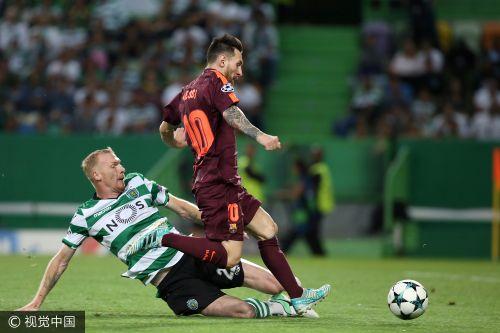 欧冠-苏神造乌龙梅西里程碑 巴萨1-0葡萄牙体育