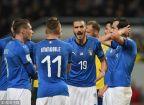 [高清组图]意大利0-1瑞典 晋级世界杯命悬一线