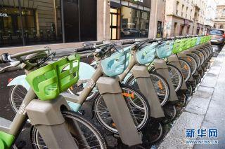 1月1日起,新一代有桩公共自行车Velib Metropole在巴黎投入