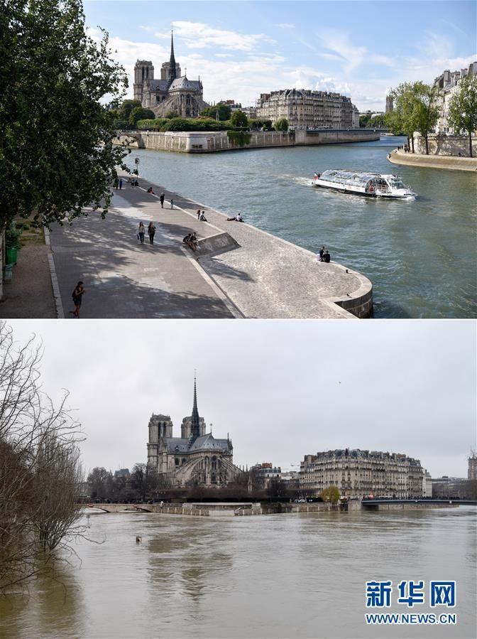 塞纳河洪水将达峰值 大巴黎地区疏散约1500人