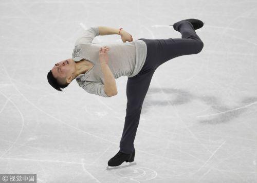 [高清组图]团体赛男单短节目失误大战 闫涵列第7