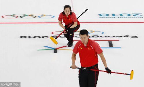 [高清组图]中国憾负俄奥林匹克选手 遭遇两连败