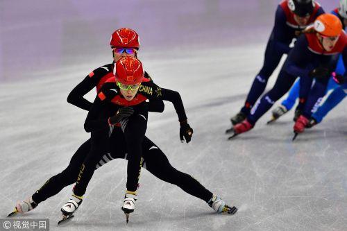 [高清组图]3000米接力 中国队破奥运纪录进决赛
