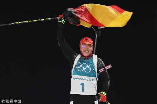 [高清组图]冬季两项女子10公里达尔迈尔再夺冠