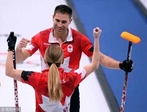 [高清组图]冰壶混双加拿大逼挪威认负 复仇进决赛