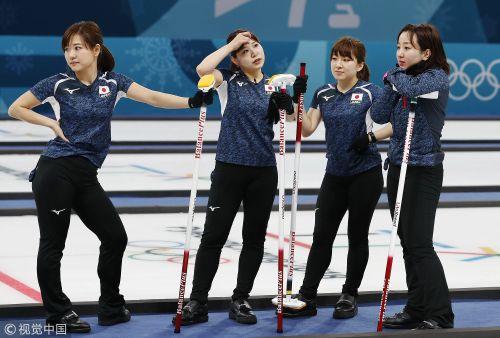 [高清组图]冰壶女子首轮 日本大胜美国 英国迎首胜