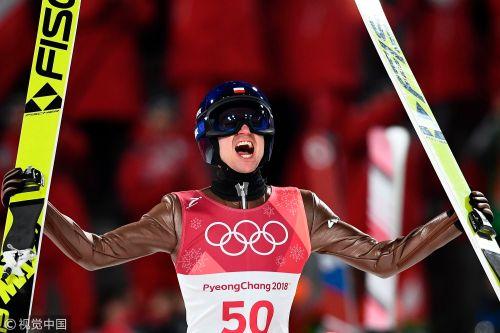 [高清组图]跳台滑雪男子大跳台 波兰斯托赫夺冠