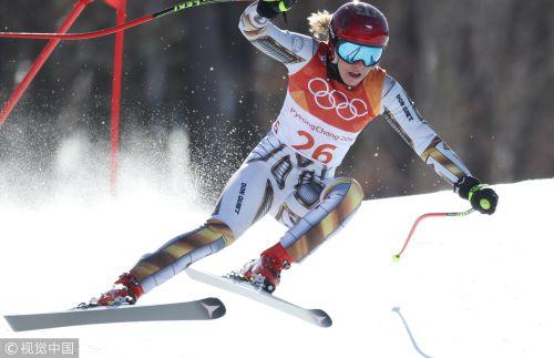[高清组图]高山滑雪超级大回转 捷克选手莱德卡夺冠