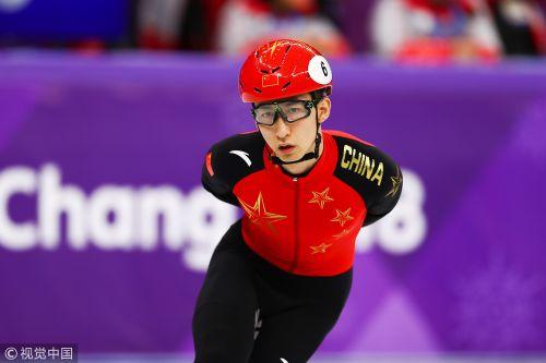 [高清组图]短道速滑男子1000米1/4决赛 武大靖遭淘汰