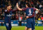 [高清组图]巴黎主场5-2逆转击败斯特拉斯堡