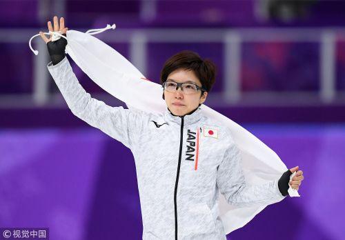 [高清组图]速滑女子500米决赛 日本小平奈绪夺冠