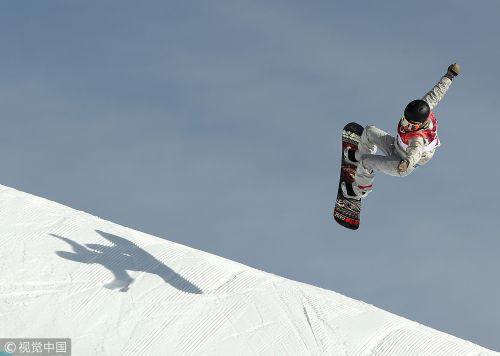 [高清组图]单板滑雪大跳台资格赛 奥地利第1晋级