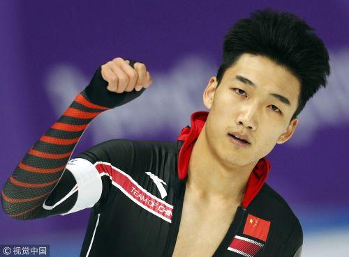 [高清组图]高亭宇500米摘铜 中国男子速滑首夺牌