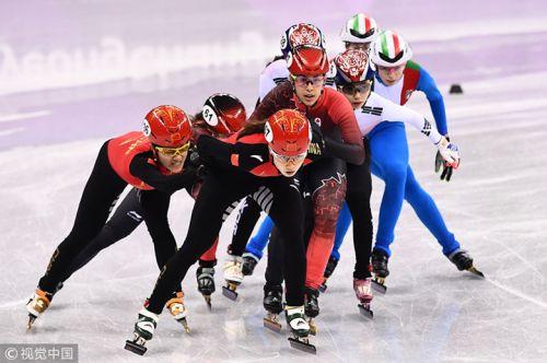 [高清组图]女子3000米中国队被判犯规韩国摘金