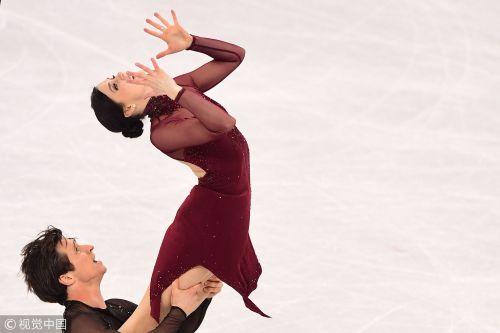 [高清组图]冰舞加拿大名将夺冠 法国组合破纪录