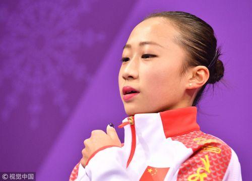 [高清组图]李香凝惊险跻身自由滑 冬奥首秀值得肯定
