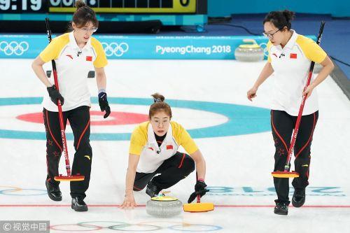 [高清组图]冬奥中国女壶不敌瑞典 4胜5负无缘四强