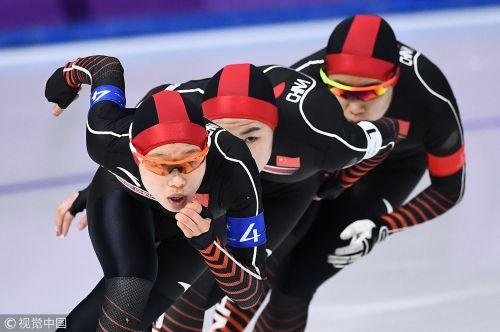 [高清组图]速滑女团追逐赛结果出炉 中国获第五