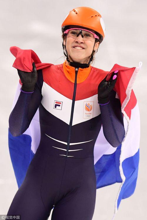 [高清组图]2018平昌冬奥女子短道1000米 荷兰夺冠