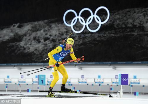 [高清组图]男子4X7.5公里接力 瑞典力压挪威夺冠