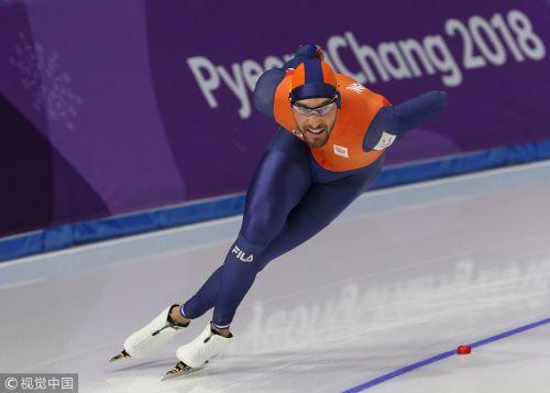 [高清组图]速滑1000米荷兰名将斩获第二冠