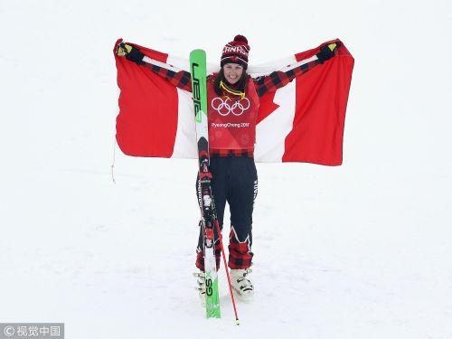 [高清组图]自由式滑雪女子障碍赛 加拿大选手夺冠
