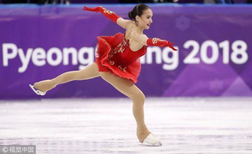 [高清组图]花滑女单决赛 俄奥运双娃摘金银牌