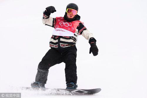 [高清组图]单板滑雪男子大跳台 加拿大选手夺金