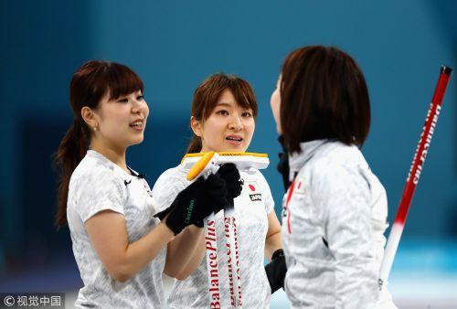 [高清组图]女子冰壶日本胜英国摘铜 创历史最好成绩