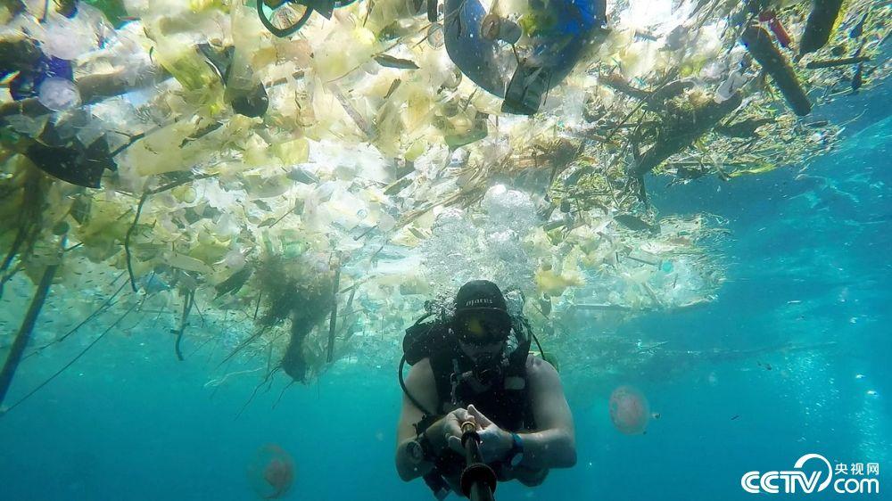 巴厘岛海洋垃圾成灾