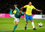 [高清组图]热苏斯破门 德国不敌巴西终结22场不败
