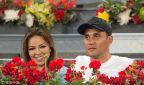 [高清组图]马德里网球公开 纳瓦斯携娇妻观战