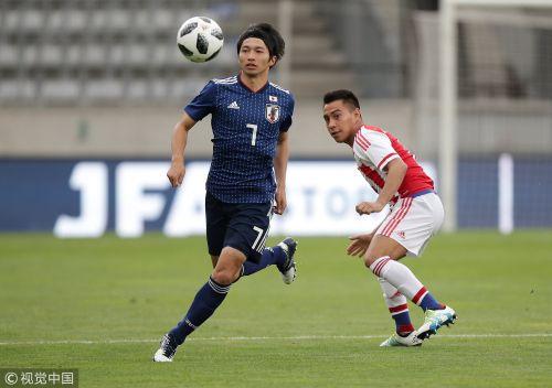 [高清组图]热身赛-香川传射 日本4-2逆转巴拉圭