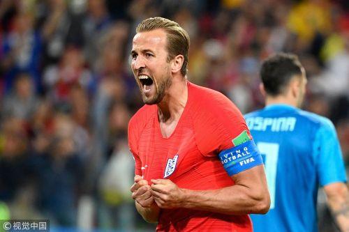 世界杯-凯恩进球米纳补时扳平 英格兰点球晋级