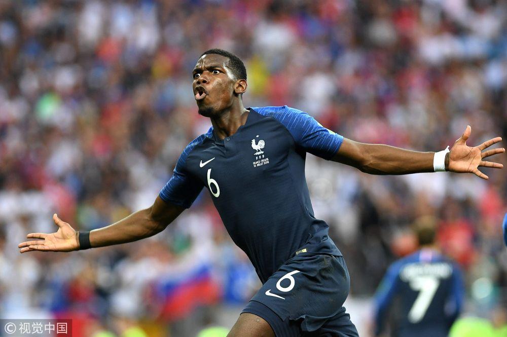 2018年俄罗斯世界杯决赛:法国4-2克罗地亚