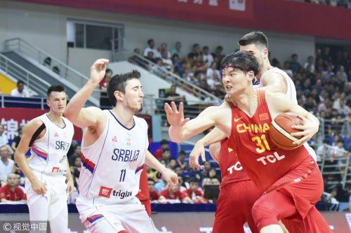 [高清组图] 四国赛-中国男篮3分胜塞尔维亚