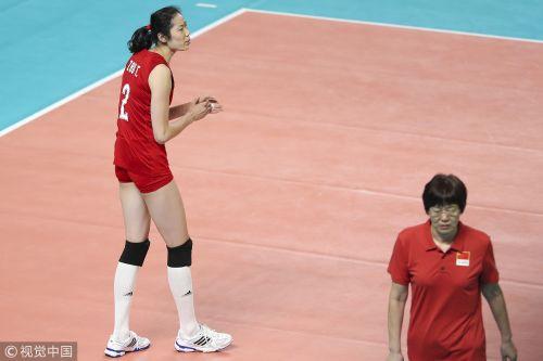 [高清组图]朱婷10分中国女排3-0哈萨克斯坦