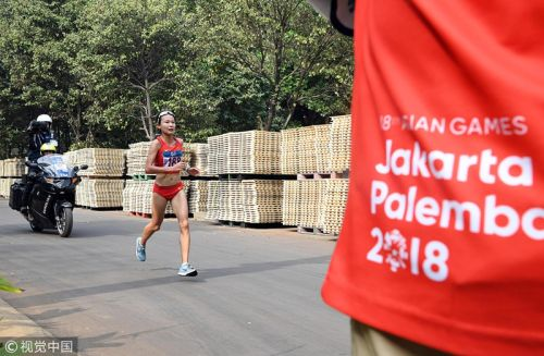 [高清组图]女子马拉松巴林夺冠 中国张美霞第八