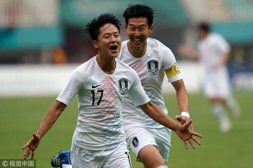 [高清组图]亚运男足韩国3-1越南 率先挺进决赛