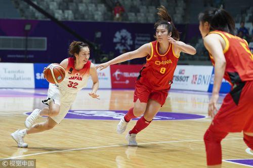 [高清组图]中国女篮双杀日本 将与朝韩联队争金牌