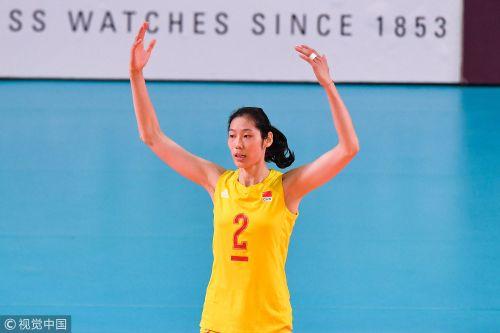 [高清组图]女排横扫日本 连续11届进亚运决赛
